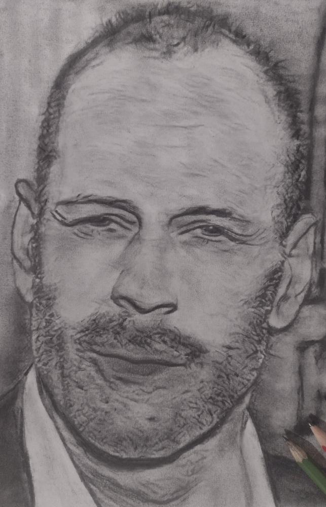 Bruce Willis by mi7ell